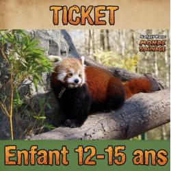 TICKET ENTRÉE ENFANT 12 À...